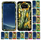 for Samsung Galaxy S8 & Plus KoolKase Armor Hybrid Cover Case - Camo Mossy 08
