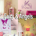 Fairy Wall Sticker! Girls Home Transfer Graphic /  Angel Decal Decor Stencil Art