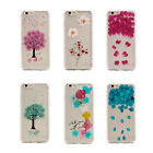 Sakura Pressed Real Dry Flower Bling Floral Clear Case Cover for iPhone 6/6s AU