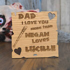 I Love You Dad More Than Negan Loves Lucille The Walking Dead Zombie Fathers Day