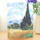 1pc 16k Thicken Hardcover Sketch Book Notebook Drawing Diary Book Blank Journal