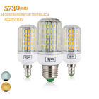 Led Corn Bulb E27 E14 5730 Smd 220v 110v 24-165leds 7-45w Indoor Spot Light Lamp