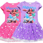 New girl princess Party Moana princess girl tutu dress size 3-7yrs