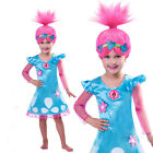 Girls Trolls costume Girls Dress Children Clothing Trolls wings+dress3-8yrs