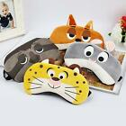 Cartoon Animal Eye Mask Cover Sleeping Funny Eyepatch Rest Rabbit Fox Sloth - LD