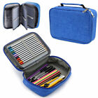 High Capacity Zipper Pens Multi-functional Stationery Case Pencil Makeup Pouch