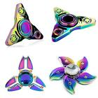 MULTICOLOR MACHINERY FINGER SPINNER TRI FIDGET HAND GYRO ADHD FOCUS EDC TOY ACTU