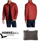 NEW $195 Hawke & Co Packable Down Jacket Chili Pepper NWT