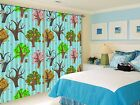 3D Color Tree 9 Blockout Photo Curtain Printing Curtains Drapes Fabric Window US