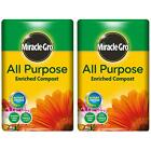 Miracle-Gro All Purpose Enriched Compost 50L Potted Plants Flowers Potting Soil