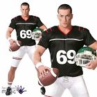 Adult Mens Stag Do American Footballer Fancy Dress USA Superbowl Costume Outfit