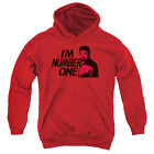 Star Trek/Im Number One Youth Pull Over Hoodie   Red   Cbs154
