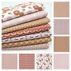 JAPANESE MINKS & PINKS Modern Dressmaking & Quilting 100% Cotton Fabric