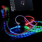 Yoocart LED Flashing USB Sync Charger Cable For Samsung HTC Phone Four Color