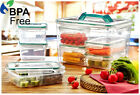 Plastic Clear Storage Box Nuts Fresh Food Container Kitchen Rice Pasta Boxes New