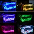 LED Aquarium Light Fish Tank Hood Lamp with Extendable Bracket & RGB Controller