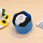 Candy Color Plastic Wristwatch Storage Single Watch Box Case With Sponge