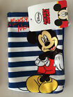DISNEY MICKEY MOUSE CHARACTER BOYS WASH MITT CHILDS KIDS FLANNEL FACE CLOTH BNWT