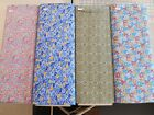 "BRAND NEW CALICO 100% cotton fabric flowers & art nouveau 1 yd x 44"" w FREE SHIP"