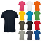 New Mens B&C Collection Organic Cotton Short Sleeve Crew Neck T-shirt Size S-3XL