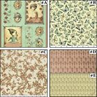 """QUILTING TREASURES """"MIRABELLE"""" GIRLS BUTTERFLY FLORAL HEARTS FABRICS (SELECT)"""