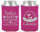baby girl shower cupcake ideas - Baby Shower Koozies Koozie Ideas (90038) Sheep, Baby Girl, Pink