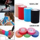 Waterproof 5M Kinesiology Sports Muscles Care Elastic Physio Therapeutic Tape