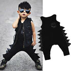 Summer Toddler Baby KIds Boy Sleeveless Jumpsuit Romper Playsuit Outfit Clothes