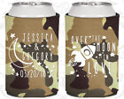 Tan Camouflage Wedding Koozies Koozie Favors Gift Ideas Decorations Gifts (256)
