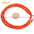 "4mm Round Sea Sediment Stone Beads For Jewlry Making 15"" Wholesale Loose Beads"