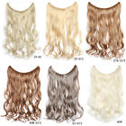 Hidden Halo Invisible Wire Wavy Curly Hair Piece Secret Miracle Piece Extensions