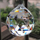 Chandelier Hanging Lighting Parts Ball Glass Beads Faceted Prisms Pendant Decor