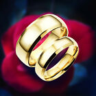 1Pc Stainless Steel Love Pure As The Sea Noble Ocean Blue Couple Rings Wedding