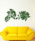 Vinyl Wall Decal Leaves Foliage Nature Style Room Decor Stickers (1453ig)