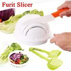 Lots Multi Practical Salad Cutter Bowl Easy Salad Fruit Vegetable Washer Cutte