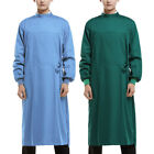 Surgical Gown Reusable Medical Isolation Gown Doctor Surgeon Workwear Costume