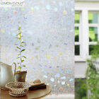 3D Non-Glue Static Frosted Window Films Cling Glass Stickers for Home Decoration
