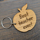 Best Teacher Ever Keyring - End Of Term School Teacher Appreciation Leaving Gift