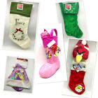 Christmas Stockings and Hangers Sets Many Styles and Types