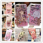 Quicksand Glitter Cute Animal Plant Heart for iPhone 6s 7+Star Fruit Moving Case