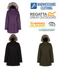 Regatta Womens Schima Parka Wind Waterproof Breathable Jacket 10-28 From