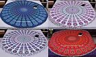 Peacock Mandala Round Tapestries Wall Hanging Tapestry Beach Throw Decor Indian