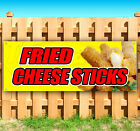 FRIED CHEESE STICKS Advertising Vinyl Banner Flag Sign Many Sizes USA