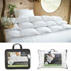 THE FINE BEDDING COMPANY® LUXURY 60% GOOSE DOWN & FEATHER DUVET NATURAL QUILTS