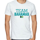 Bahamas Team Soccer T-shirt Adults Men's Soccer Jersey 100 % cotton Any Sports image