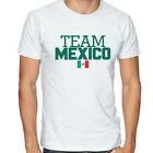 Mexico Team  Soccer T-shirt Adults Men's shirt Jersey 100 % cotton Any Sports image
