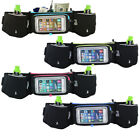 Running Hydration Belt Water Bottles Smartphone Touchscreen Pockets Mens Womens image