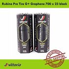 Vittoria Rubino Pro Tire G+ Graphene 700 x 23 Bike Tire Black - 2017 tyre