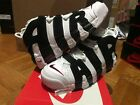 Nike Air More Uptempo Black White Red 414962 105 Men 8-13 100% Authentic