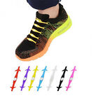12x Elastic Lacing System No Tie Shoelaces Kids and Adults Waterproof Silicone